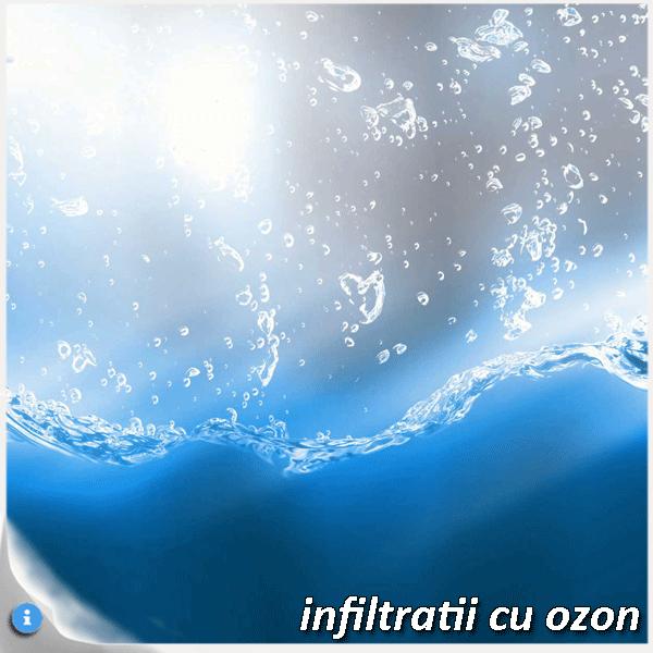 infiltratii cu ozon